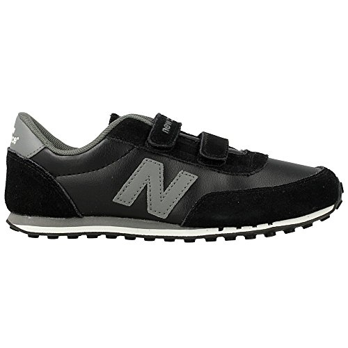 New Balance - KE410 - Color: Gris-Negro - Size: 32.5
