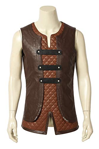 Hiccup Toothless Mens Suit Costume Dragon Halloween Cosplay Shirt Pants Vest XL]()