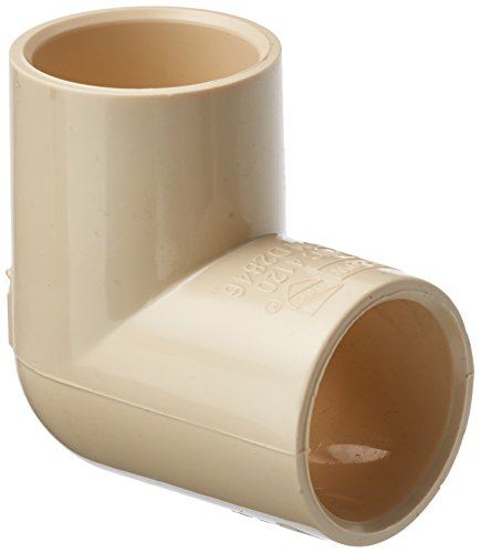 King Brothers Inc. RCE-0750-S 3/4-Inch Solvent PXL CPVC 90 Elbow, Tan ()