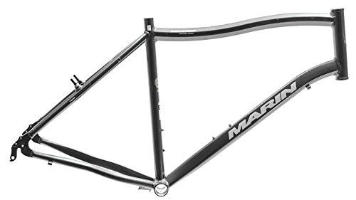 "15"" MARIN REDWOOD Comfort City Commuter 26"" Bike Frame Grey Alloy V NOS NEW"