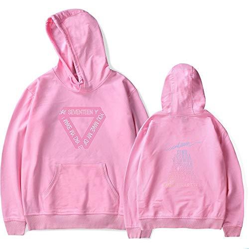Manches Hommes Capuche Femmes Décontractée Pink03 Loose Unisexe Fashion Sweats A Pour À Seventeen Pullover Confortable Longues Et H8X1n14w