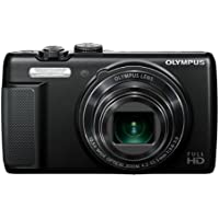 Olympus SH-21 Black - 16 MP - International Version (No Warranty)