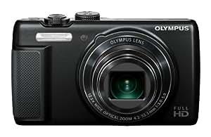 """Olympus SH-21 - Cámara compacta de 16 Mp (pantalla táctil de 3"""", zoom óptico 12.5x, estabilizador de imagen óptico), negro"""