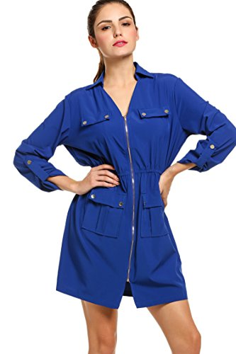 Zip Sleeve Dress - 2