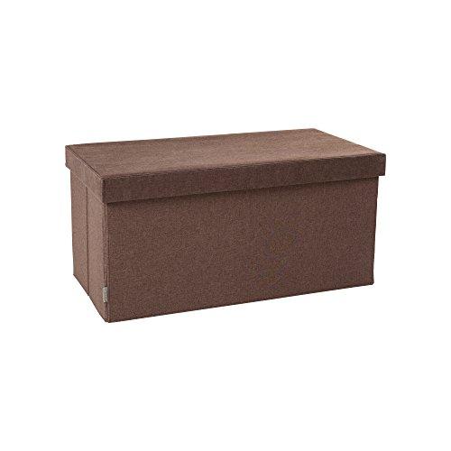 JJ Cole Storage Bench Cocoa