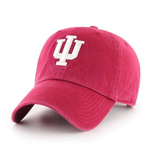 OTS NCAA Indiana Hoosiers Women's Challenger Adjustable Hat, Crimson, Women's - Indiana University Baseball
