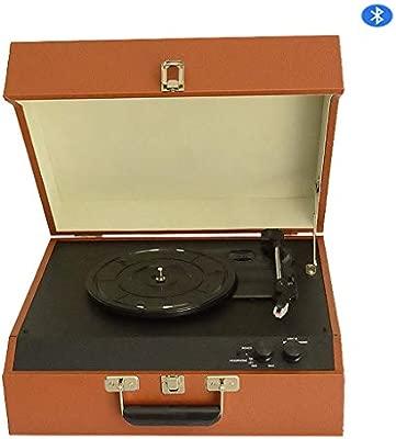 DNAN Reproductor de Discos de Vinilo, fonógrafo Retro de ...