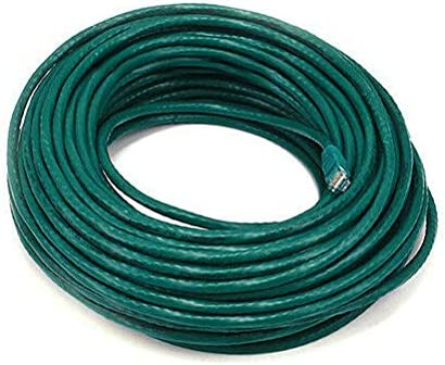 Cat6 UTP Network Ethernet Internet Cable Wire Green 550MHz 24AWG LAN Cat 6 100ft