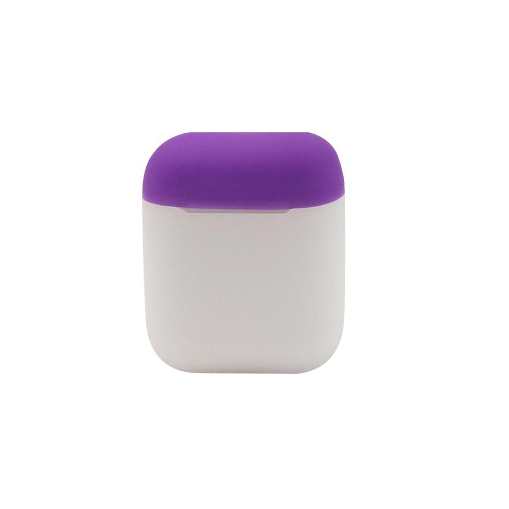 Doble Color Silicona Funda Protectora Ultra-Delgada Auricular Bluetooth Protecci/ón Funda para AirPods GerTong AirPods Funda Protectora