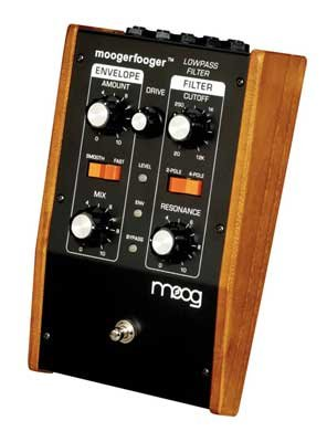 Moog MF101 Moogerfooger Low Pass Envelope Filter Pedal by Moog
