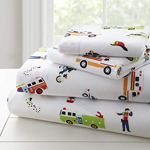 Wildkin Microfiber Sheets, Full, Heroes