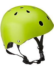 Capacete Esportivo Coquinho Tam. M Regulável com 11 Entradas de Ventilação Verde Neon - ES196 Atrio M