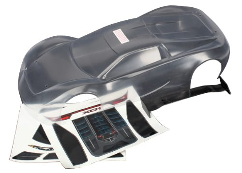 Traxxas 6411 Clear XO-1 Body with Decal Sheet