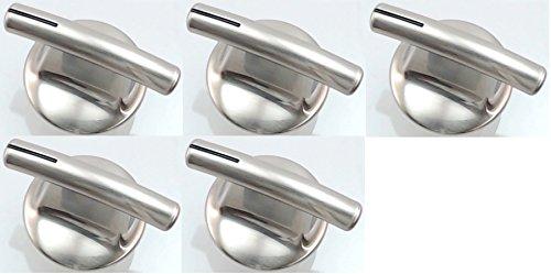 (Surface Burner Knob, 5 Pack for Maytag, Jenn-Air PS2375886 AP5670739 7737P245-60)