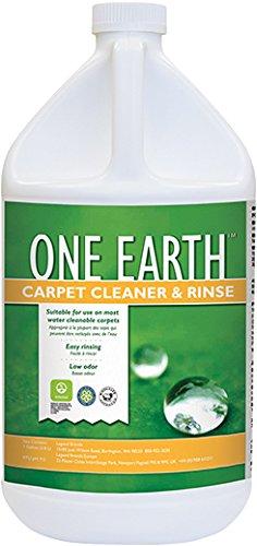 One Earth DFC1054G Carpet Cleaner/Rinse, 1 Gallon Bottles...