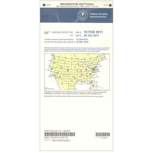 FAA Chart: VFR Sectional WASHINGTON SWAS (Current - Washington Airport Shops