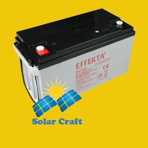 USV Batterie Akku Solarmodul Speicherung Energie Strom PV 90Ah 12V Smart