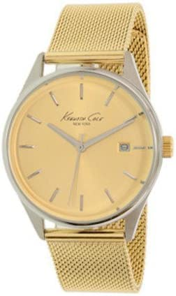 Kenneth Cole - Reloj multifunción con Esfera Plateada para Mujer (KC10029401LDJ)