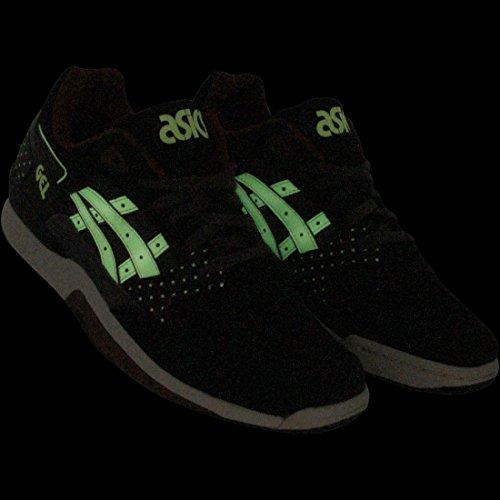 Asics Mens Gt-quick Enkelhoge Hardloopschoen Zwart / Glow In The Dark
