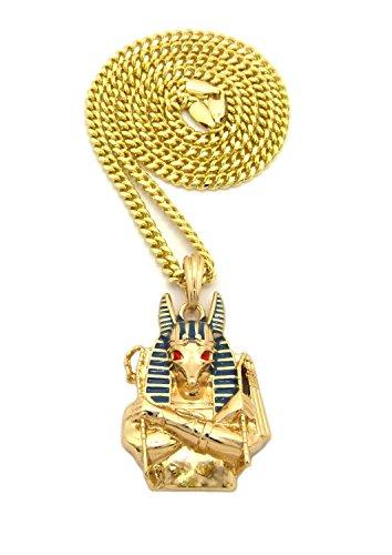 Fashion 21 Egyptain God Anubis Pendant 24