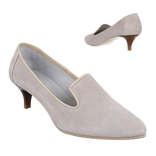 Ital-Design Women's Pumps Grey - light gray XnjzmN