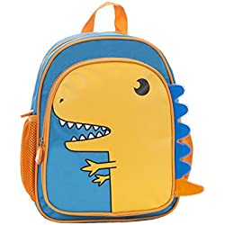 Rockland Jr. My First Backpack, Dinosaur, One Size