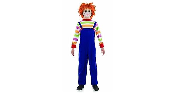 Niños estilo Chucky malo maniquí traje XL (10-12 years): Amazon.es: Juguetes y juegos
