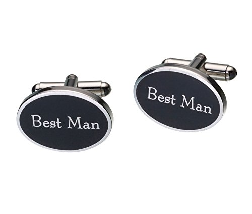 Lillian Rose Best Man Cufflinks Wedding Party Accessories Gift