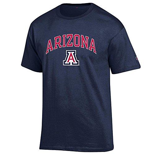 Arizona Wildcats T-shirts (Arizona Wildcats TShirt Varsity Navy - L)