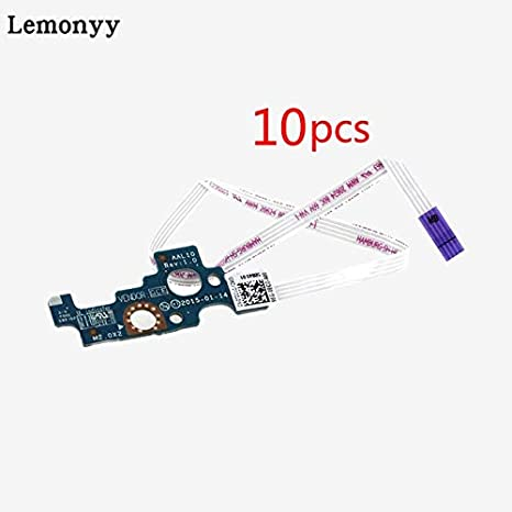 Computer Cables Laptop Power Button Board Switch Board Switch Cable for DELL 14U 15U 5455 5458 5555 5558 5559 3558 3559 LS-B844P CN-94MFG Cable Length: 0.8m, Color: 10pcs