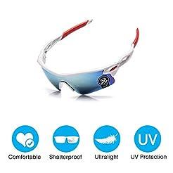 Amabest Waterproof Sports Sunglasses wit...