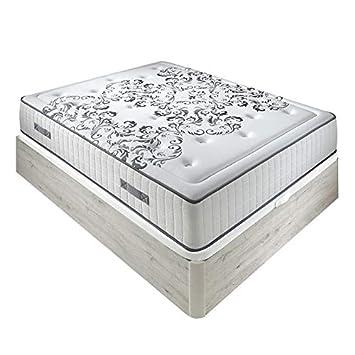 Pack Colchón muelles Queen + Abatible Madera - Nordico, 150x190cm: Amazon.es: Hogar