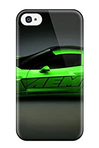 Premium Protection Car Case Cover For Iphone 4/4s- Retail Packaging