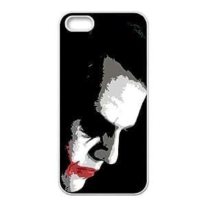Batman Joker iPhone 5 5s Cell Phone Case White SH6111546