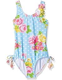 Girls' Garden Roses 1pc Swimsuit