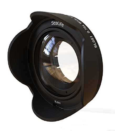 SeaLife SL051 0.75x Wide Angle Conversion Lens with 52mm DC Adapter Ring for DC2000 & DC1400 Digital Cameras 52 Mm Conversion Ring