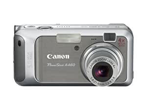Canon PowerShot A460 5.0MP Digital Camera with 4x Optical Zoom (Silver)