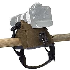 Stealth Gear - Bolsa rellenable para apoyar cámaras (2 compartimentos, sin relleno), color verde