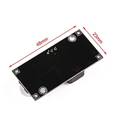 DCDC Converter, DROK Step Down Voltage Regulator Module DC 4.5-40V 36V 24V to 1.25-37V 12V 9V 5V 3V Variable Buck Converter Adjustable Electronic Power Supply Volt Reducer Transformer Stabilizer Board: Industrial & Scientific