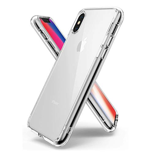 Airror Phone Case Compatible with iPhone X Cases, Ultra Slim Clear Flexible Soft TPU, Anti-Slip, Thin Protect Cover Clear Cases [Support Wireless Charging] 9135