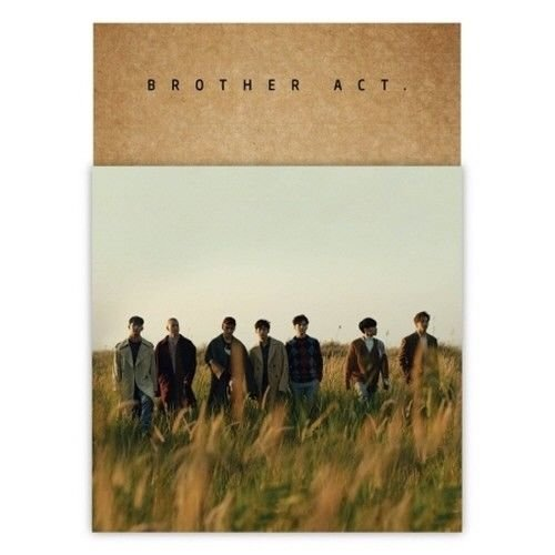 Price comparison product image BTOB - [BROTHER ACT.] 2nd Album CD+Booklet+PhotoCard+Bookmark+Mini Poster(On Pack)+Event Paper K-POP SEALED