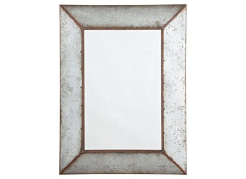 Ashley Furniture Signature Design - O'Talley Metal Framed Accent Mirror - Industrial Design - Vertical Only - Antique Gray by Signature Design by Ashley