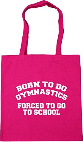 school to Born forced litres 42cm kids to Bag Tote Beach HippoWarehouse x38cm gymnastics Gym Fuchsia to do 10 go Shopping 8qwxW1gd