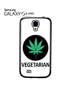 Vegetarian Cannabis Weed Mobile Cell Phone Case Samsung Galaxy S4 Mini White