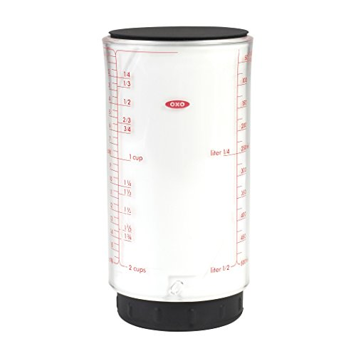 OXO Good Grips 2 Cup Adjustable Measuring Cup (Best Dry Measuring Cups)