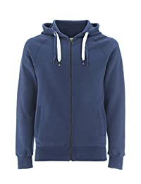 Zip Up Hoodie for Men - Fleece Jacket - Mens Zipper Cotton Hooded Sweatshirt
