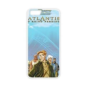 iPhone6 Plus 5.5 inch Phone Case White Atlantis The Lost Empire BXF298481