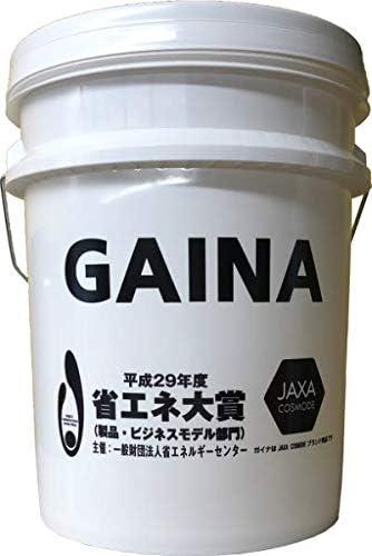 Amazon   日進産業 断熱塗料 ガイナ-GAINA- 白(N-95) 18L 14kg 【外装用】   セメント