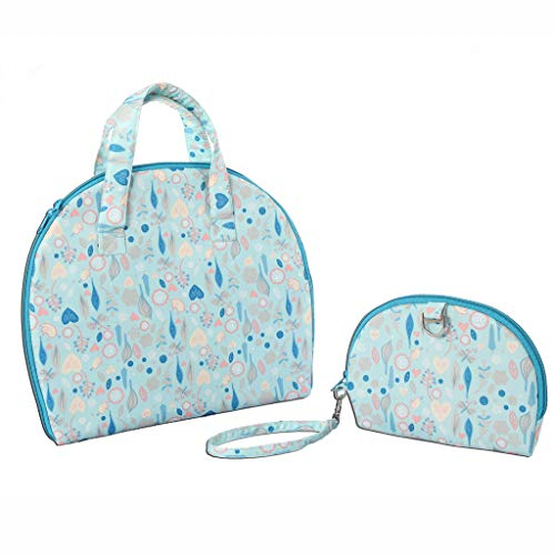 Ikevan Diaper Pad Newborns Foldable Waterproof Baby Diaper Changing Mat Portable Changing Pad +Bag (G) (Bdl Bag)