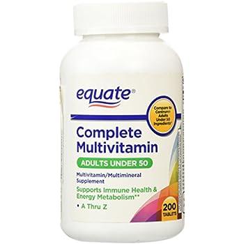 amazon   equate   complete multivitamin multimineral